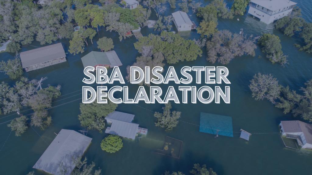 sba disaster declaration flooding in Kentucky